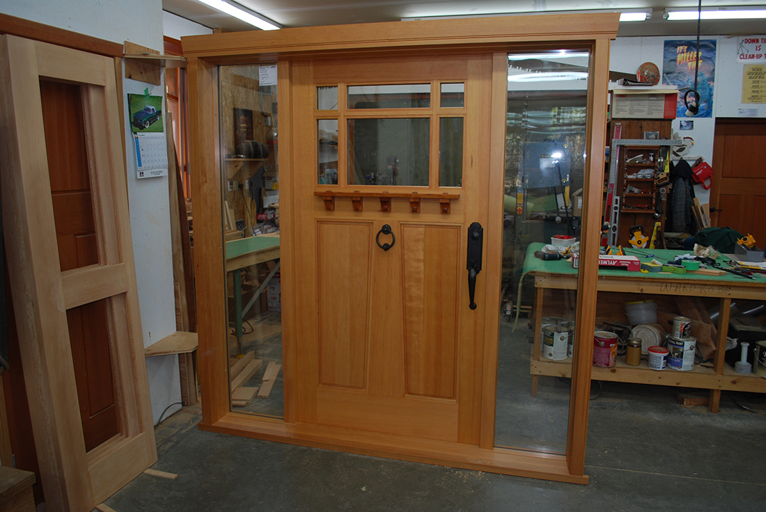 Step By Step Entry Door Construction Saratoga Woodworks
