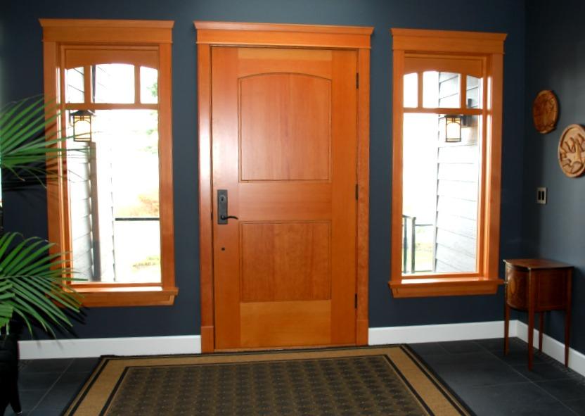Custom Wooden Doors And Windows : Custom wood doors saratoga woodworks craftsman style