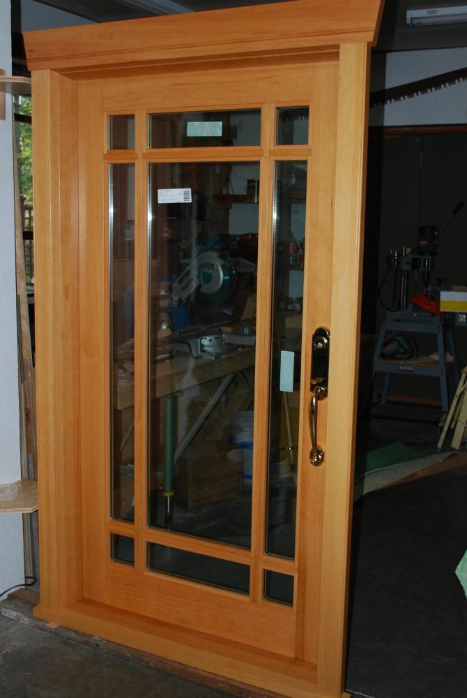 Custom Wood Doors Saratoga Woodworks Craftsman Style