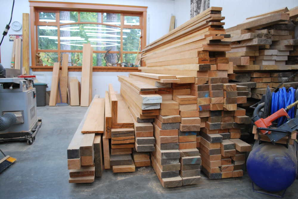 Hand selected wood