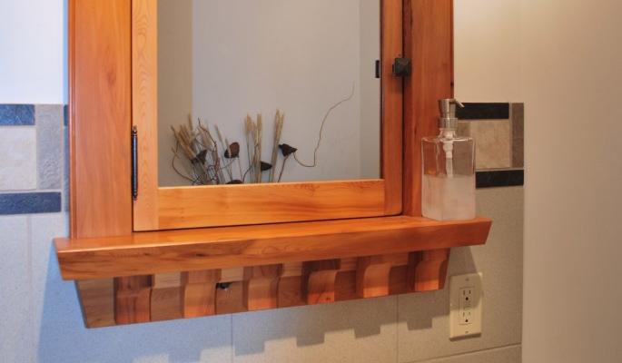 Built In Custom Wood Medicine Cabinet Saratoga Woodworks