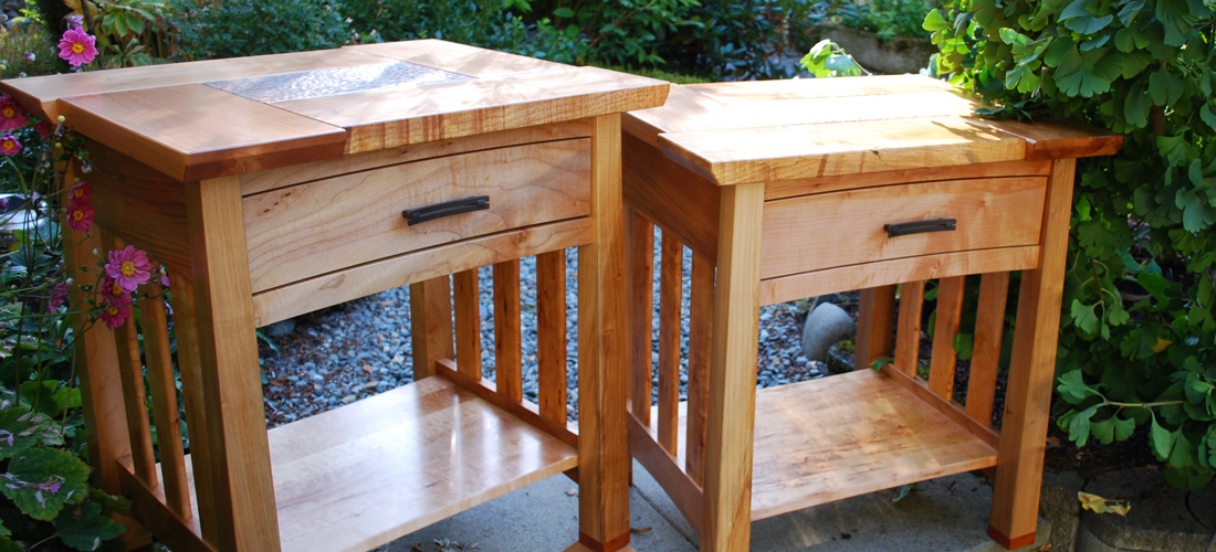 handcrafted furniture Comox Valley Vancouver Island