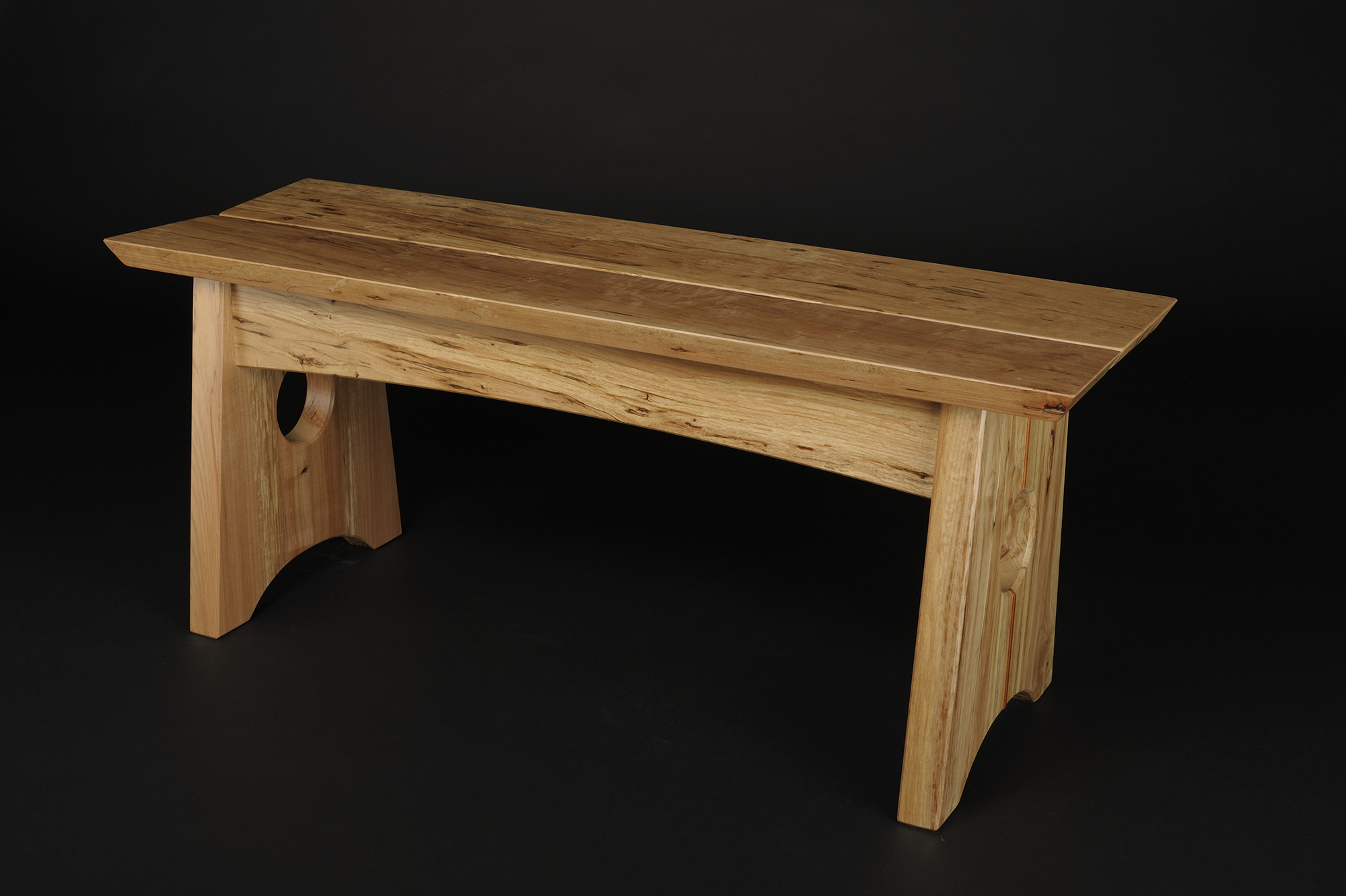 Maple wood benches saratoga woodworks sciox Gallery