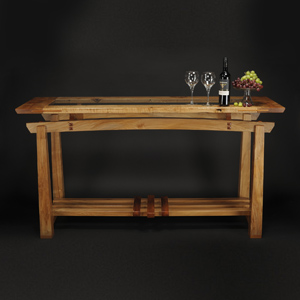 Solid wood Tasting Table