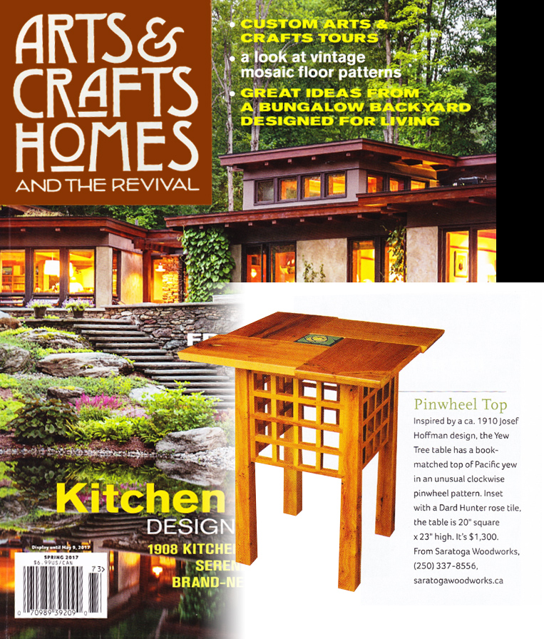 arts and crafts magazine cover