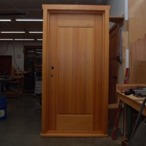 FIR ENTRY wood door