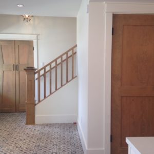 custom wood interior doors