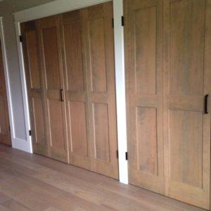 custom closet doors